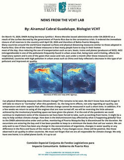 March 2020 NEWS FROM TEH VCHT LAB Airmazul