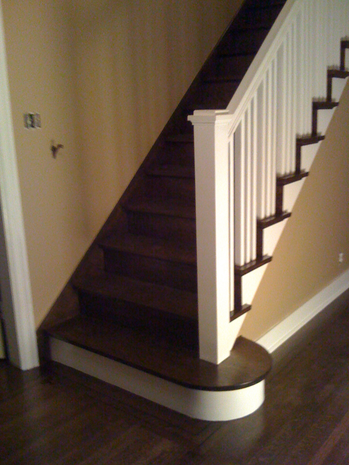Refinish bannisters
