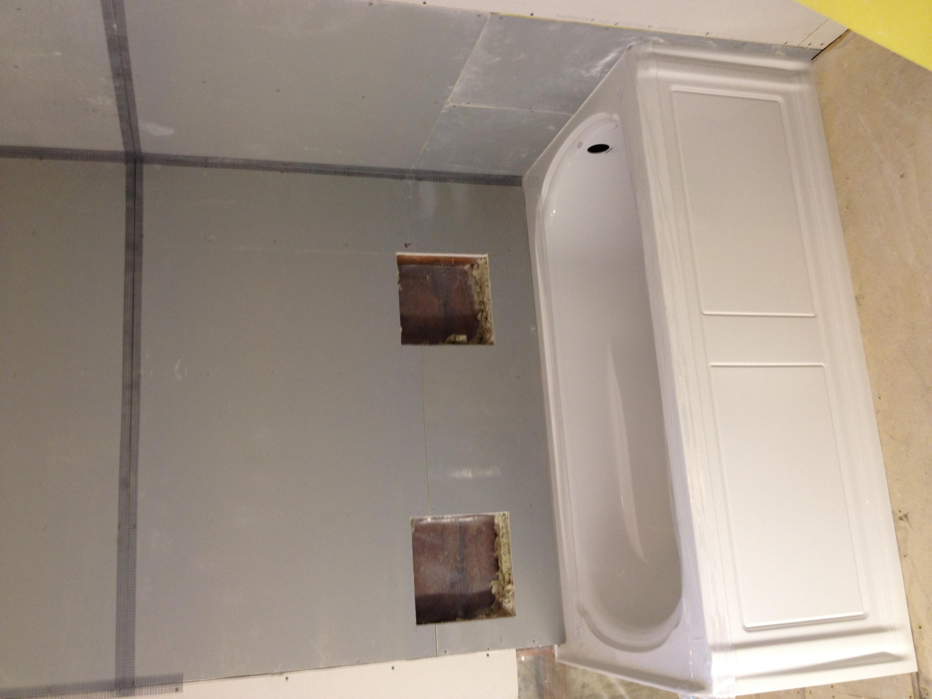 Prep for Soap shelves
