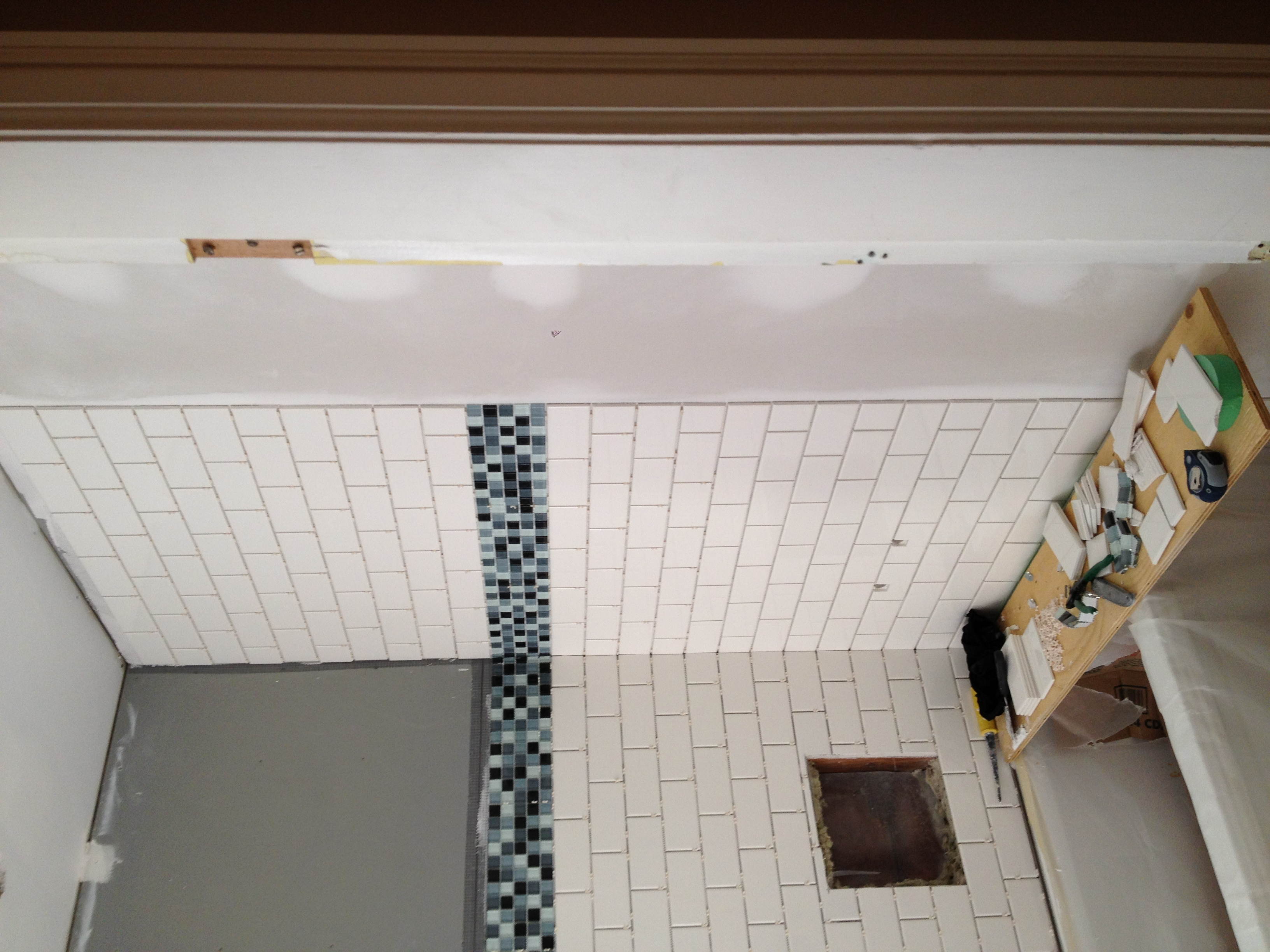 Subway Tile install