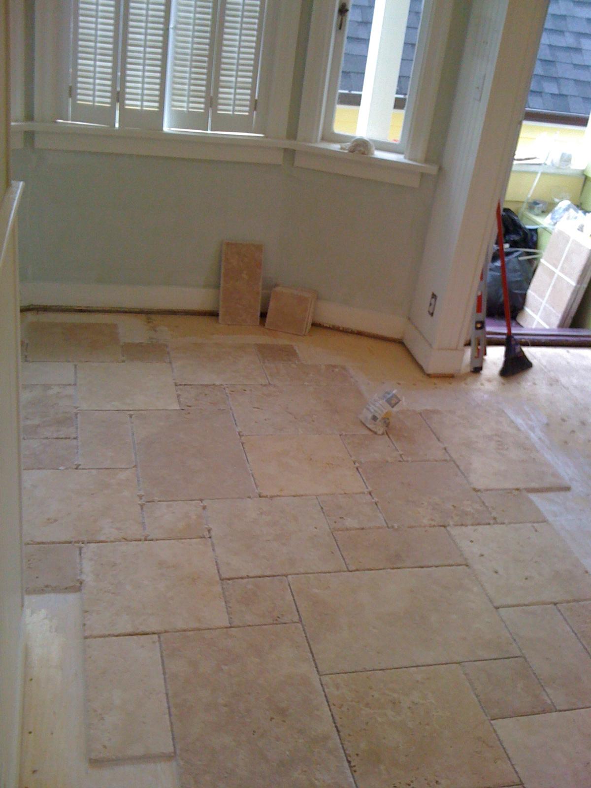 Start Kitchen tile.