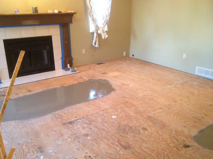 Floor Prep for Laminate