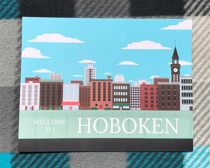 Hoboken Welcome Print