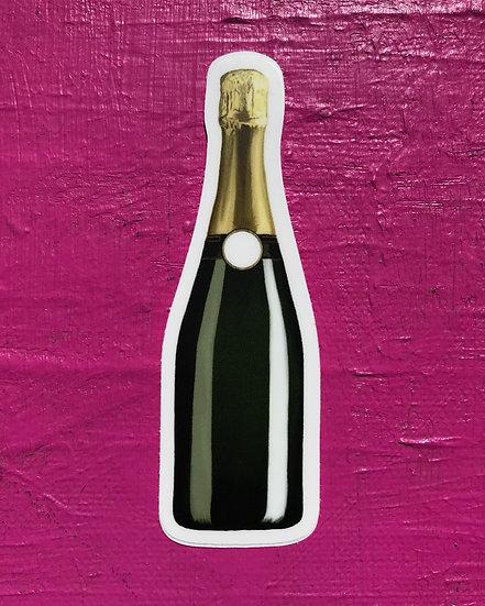Champagne Dreams Sticker