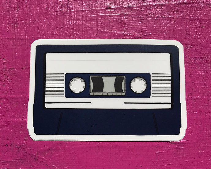 Cassette Tape Sticker