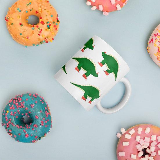 Cool Dinos / Glossy Ceramic Mug