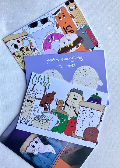 Food Friends Card Pack