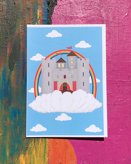 Cloud Castle Card