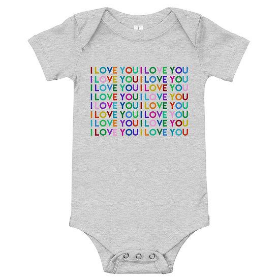 I Love You / Unisex Baby Onesie