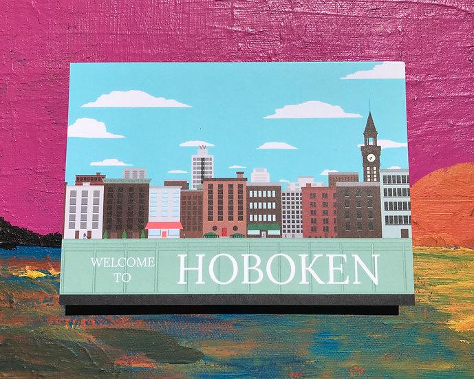 Hoboken Welcome Card