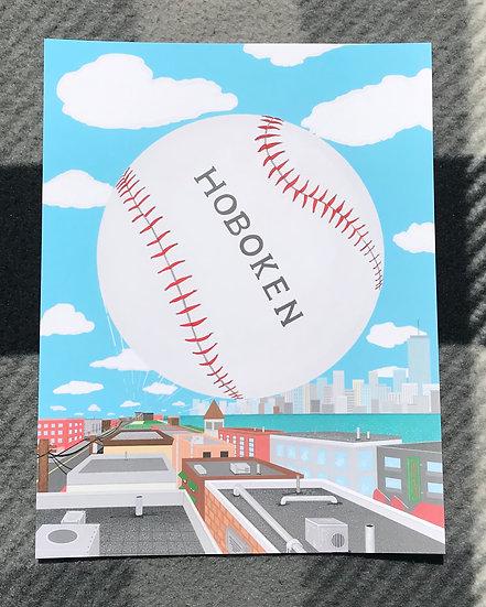 Baseball Town Print