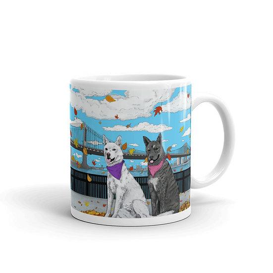 Blanca & Loba / Glossy Ceramic Mug
