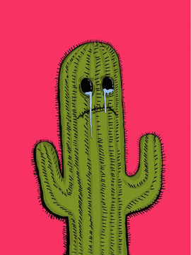Crying Cactus