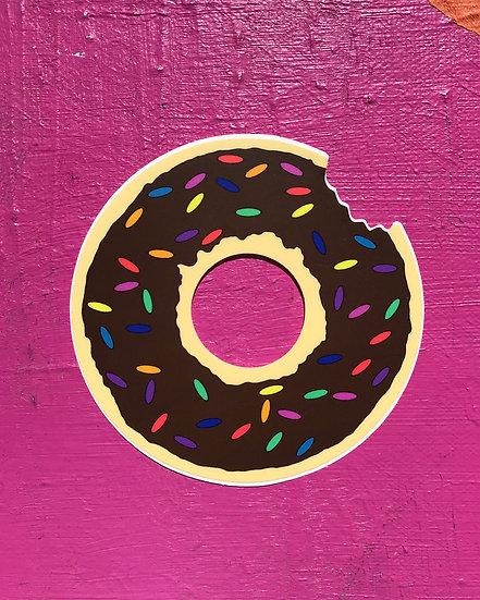Donut Miss This One Sticker