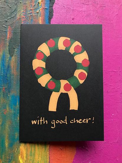Cheery Wreath Card