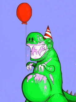 Birthday Dino