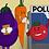 Thumbnail: Voting Veggies / Eco Tote Bag