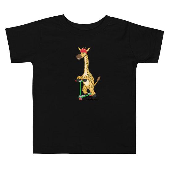 Giraffe Scooter / Unisex Toddler Premium T-Shirt