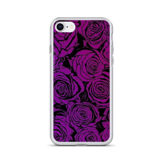Dark Dusty Roses / iPhone Case