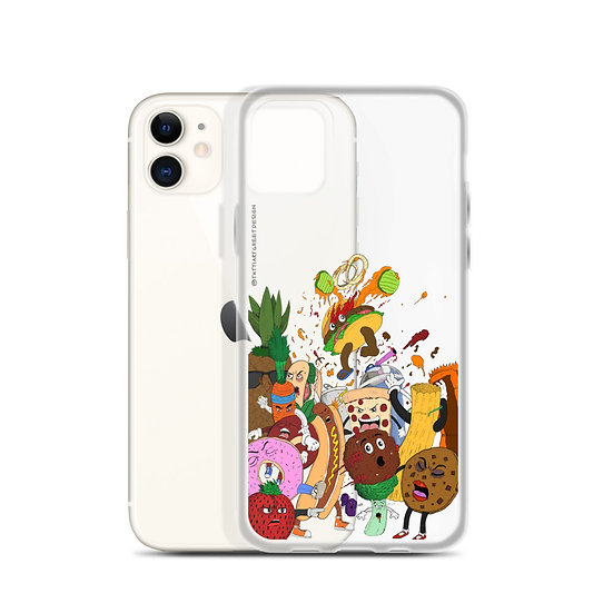 Food Fight / iPhone Case