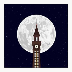 Moon Over Hoboken