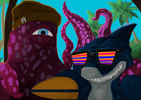 Shark & Squid