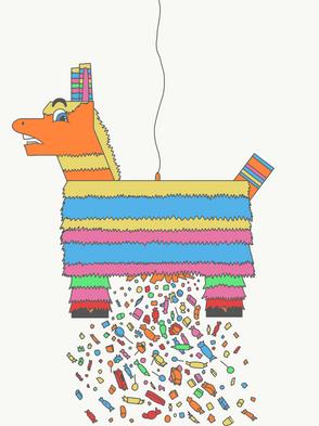Sassy Piñata