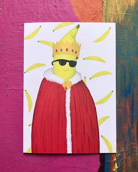 Banana King Card