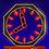 Thumbnail: Colgate Clock Card