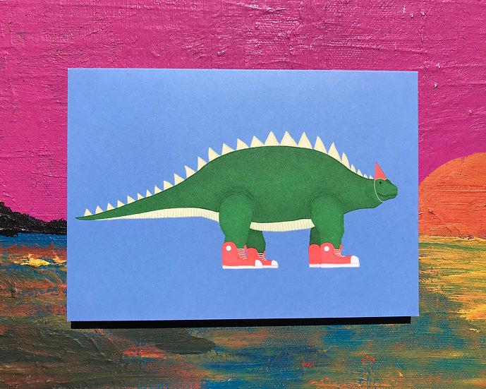 Cool Dino Card