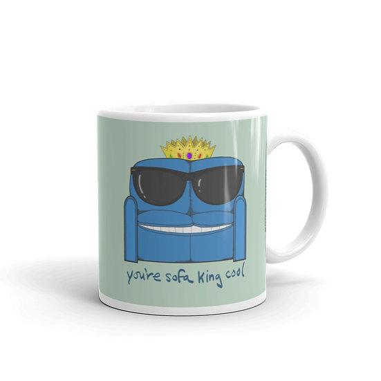 Sofa King / Glossy Ceramic Mug