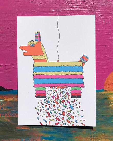 Sassy Piñata Card