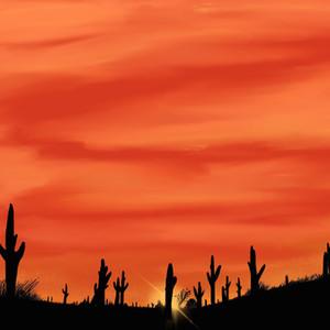 115 - Desert Sunset - 2100x1500.JPG