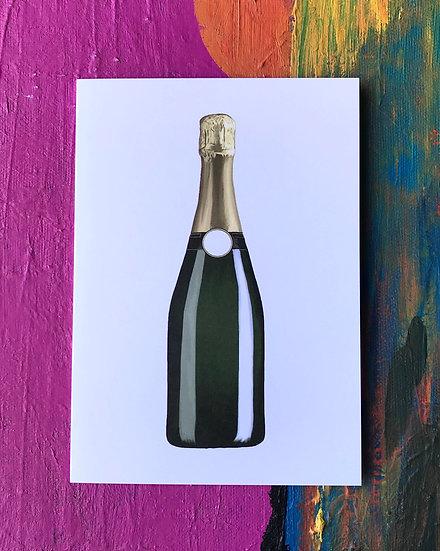 Champagne Dreams Card