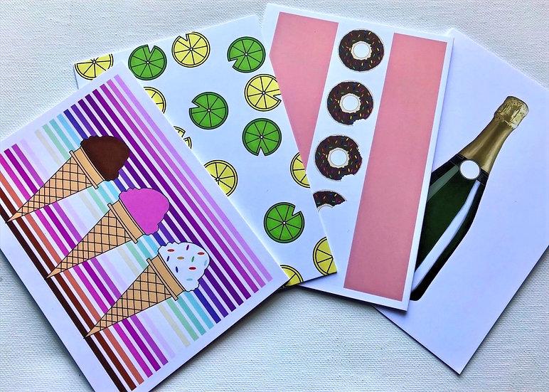Food & Drink Card Pack