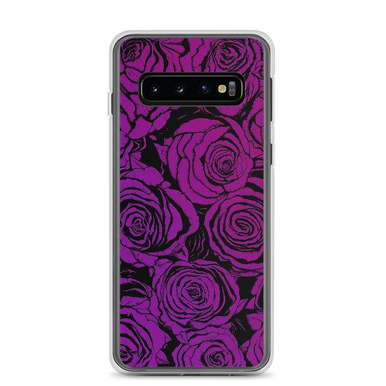 Dark Dusty Roses / Samsung Case
