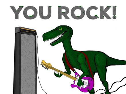 Rockin' Dinosaur