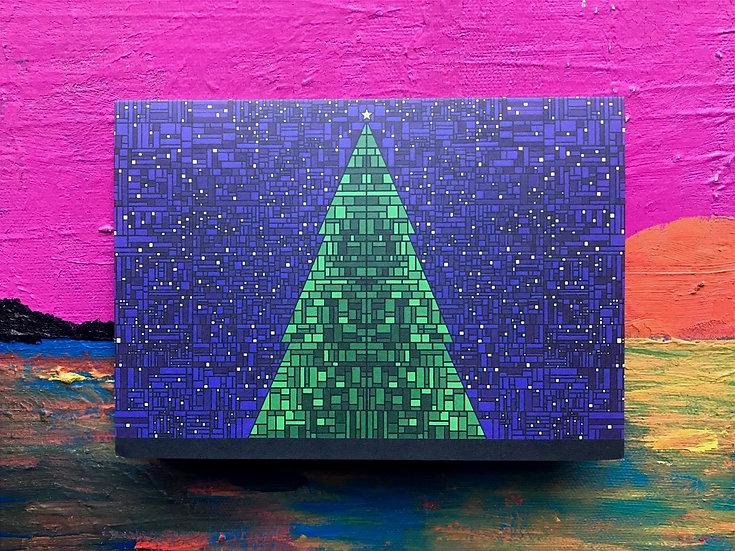 Christmas Mosaic Card