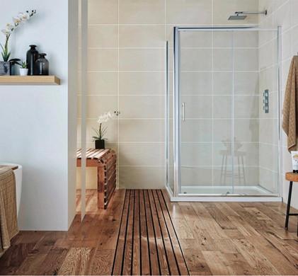 Wood Bathroom.