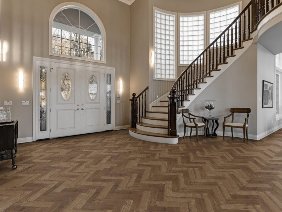 Herringbone Flooring.