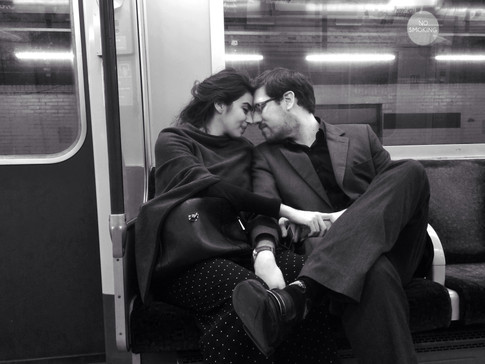 Westbound love on the District Line