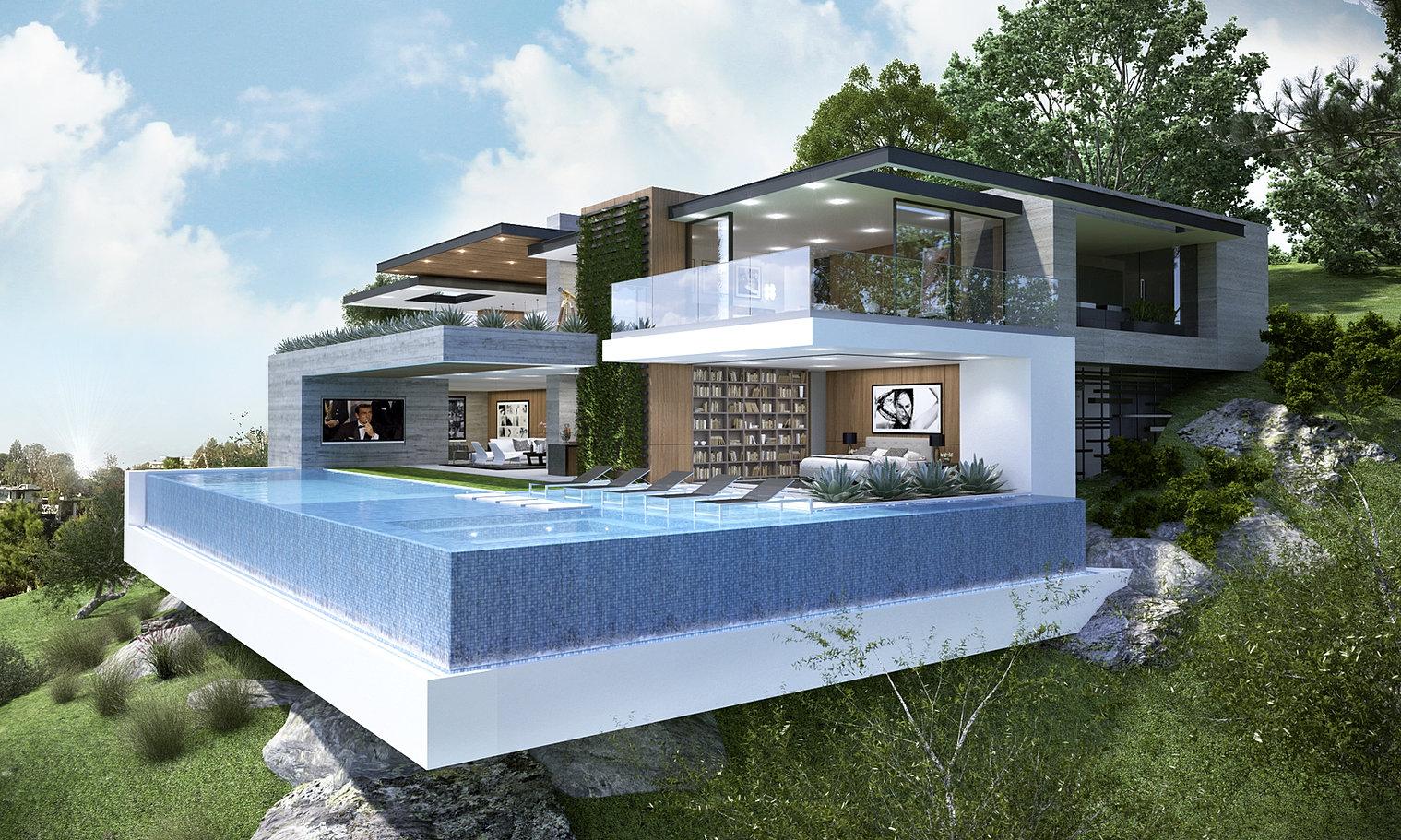 Edgewater Model Weber Design Group Mediterranean Home Plans - Caribbean homes designs