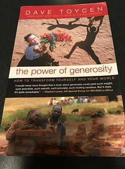 The Power of Generosity