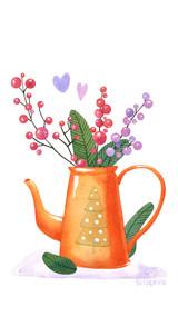 Новогодний чайник