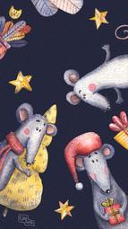 Новогодние мыши
