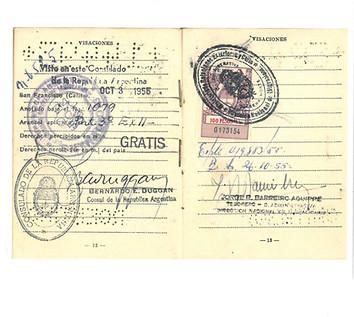 Serie: MIGRANTES 1 Familia Rusa