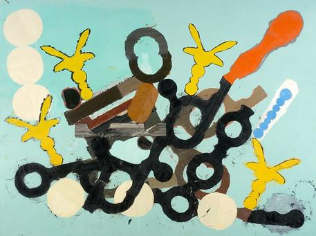 Óleo sobre tela 190 x 270 cm 2004