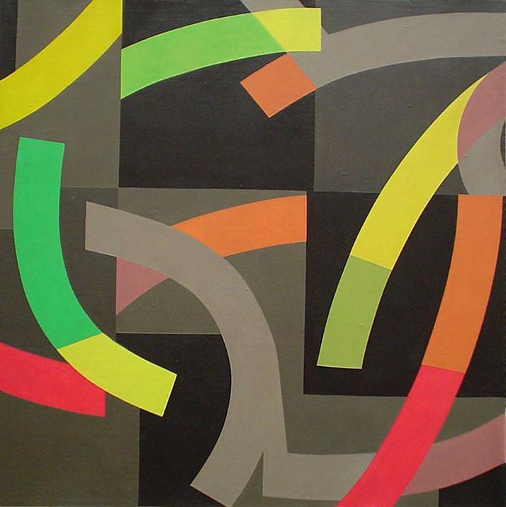 """""""Ética Deconstruida"""" Óleo sobre lino 50 x 50cm DL 27.08.04"""