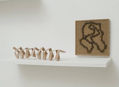 ¨Indole¨ madera y objetos encontrados dimensiones variables piezas únicas 2014