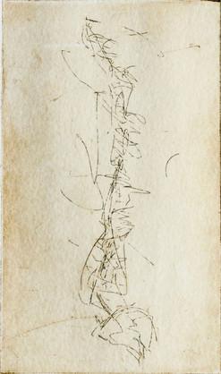 """Backbone III"" Grabado: Agua Fuerte sobre papel de algodón, 28.5 x 38 cm.  2010"